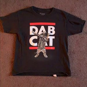 Other - Boys Dab Cat T-shirt, size L (10/12)